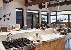 Great Room - Pearl at Jackson - Luxury Penthouse Jackson Hole