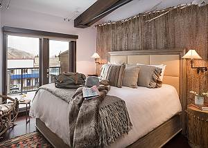 Guest Bed - Pearl at Jackson - Luxury Penthouse Jackson Hole