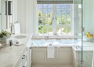 Master Bathroom - Four Pines - Teton Village Luxury Cabin Rental