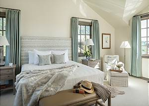 Guest Bedroom 4 - Four Pines - Teton Village Luxury Cabin Rental