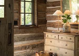 Entryway - Four Pines - Teton Village Luxury Cabin Rental