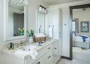 Guest Bedroom 3 Bathroom - Four Pines - Teton Village Luxury Cab