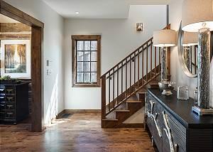 Foyer - Four Pines - Teton Village Luxury Cabin Rental