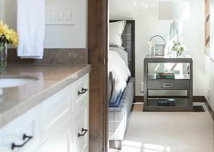 Guest Bath 1 - Four Pines - Teton Village Luxury Cabin Rental