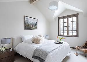 Guest Room 1 - Four Pines - Teton Village Luxury Cabin Rental
