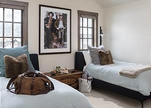 Guest Room 3 - Four Pines - Teton Village Luxury Cabin Rental