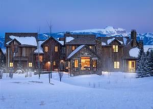 Exterior - Four Pines - Teton Village Luxury Cabin Rental