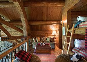 Loft with Bunks - Grizzly Wulff Lodge - Luxury Villa Jackson Hol