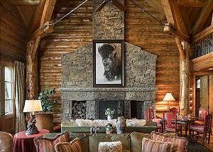 Great Room - Grizzly Wulff Lodge - Luxury Villa - Jackson Hole