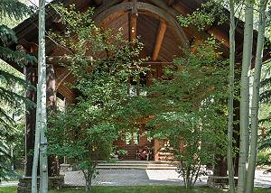 Entry - Grizzly Wulff Lodge - Luxury Villa Rental Jackson Hole