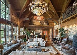 Great Room - Royal Wulff Lodge - Luxury Villa Jackson Hole, WY