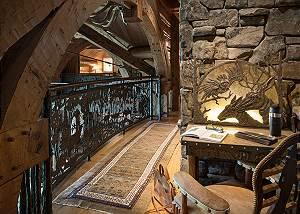 Upper Hall - Royal Wulff Lodge - Luxury Villa - Jackson Hole