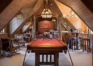 Game Room - Royal Wulff Lodge - Luxury Villa - Jackson Hole