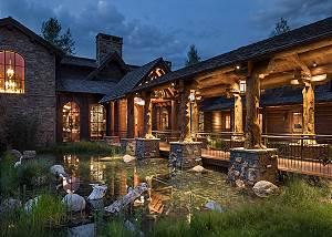 Entry - Royal Wulff Lodge - Luxury Villa Rental Jackson Hole, WY