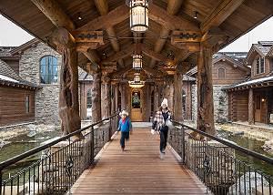 Entry - Royal Wulff Lodge - Luxury Villa Rental Jackson Hole