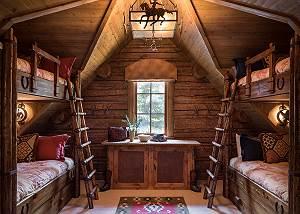 Bunks - Royal Wulff Lodge - Luxury Villa Rental Jackson Hole, WY