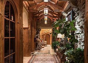 Entry Hall - Royal Wulff Lodge - Luxury Villa Jackson Hole, WY