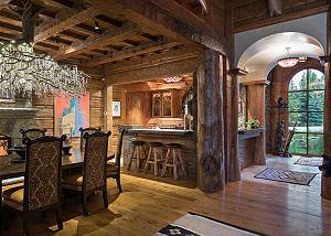 Dining Room  - Royal Wulff Lodge - Luxury Villa Jackson Hole, WY