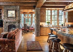 Kitchen - Royal Wulff Lodge - Luxury Villa Jackson Hole, WY