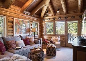 Media Room - Rocking V - Private Cabin in the Woods - Jackson Ho