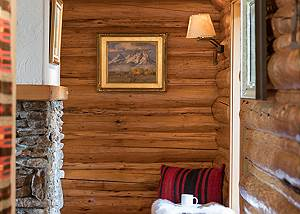 Hallway - Rocking V - Private Cabin in the Woods - Jackson Hole,