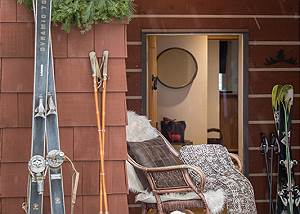 Entry - Moose Creek - Slopeside Luxury Cabin Rental Teton Villag