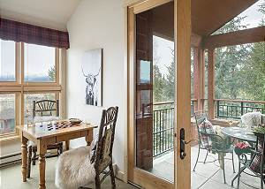 Game Table - Moose Creek - Slopeside Luxury Cabin Teton Village