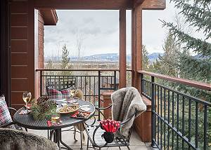 Deck - Moose Creek - Slopeside Luxury Cabin Teton Village