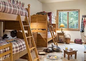 Bunk Room - Holly Haus - Teton Village Luxury Villa Rental