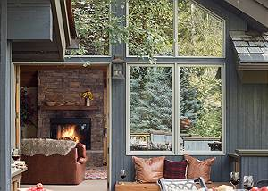 Deck - Holly Haus - Teton Village Luxury Villa Rental