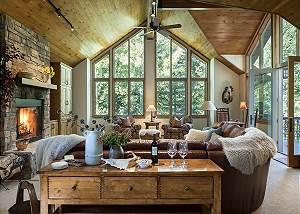 Great Room - Holly Haus - Teton Village Luxury Villa Rental
