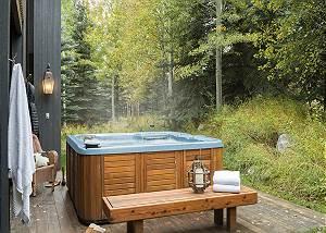 Hot Tub - Holly Haus - Teton Village Luxury Villa Rental