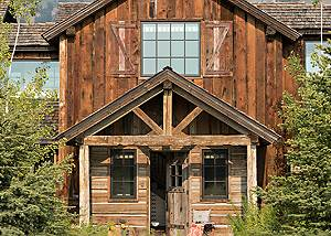 Front - Four Pines - Teton Village, Wyoming  Luxury Cabin Rental