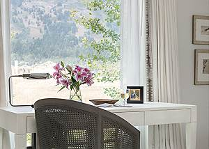 Desk - Four Pines - Teton Village Luxury Cabin Rental