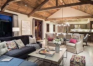 Great Room - Four Pines - Teton Village Luxury Cabin Rental