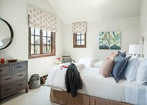 Guest Bed 2 - Four Pines - Teton Village Luxury Cabin Rental