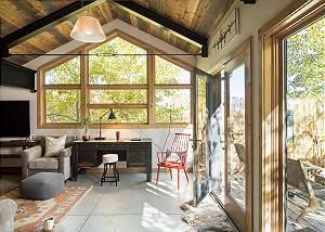 Media Room - Villa at May Park - Luxury Villa Rental Jackson Hol