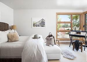 Master Bed - Villa at May Park - Luxury Villa Rental Jackson Hol