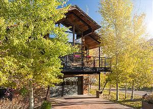 Exterior - Villa at May Park - Luxury Villa Rental Jackson Hole