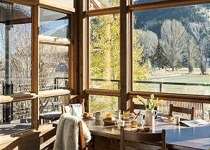 Dining  - Villa at May Park - Luxury Villa Rental Jackson Hole