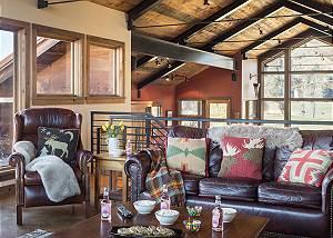 Media Room - Villa at May Park - Luxury Villa Jackson Hole, WY