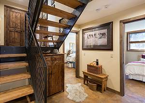 Stairs - Villa at May Park - Luxury Villa Rental Jackson Hole