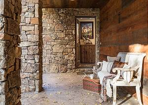 Entry - Villa at May Park - Luxury Villa Rental Jackson Hole