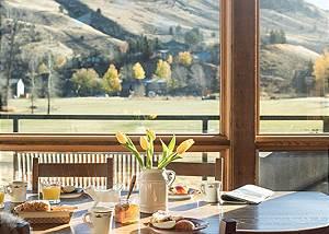 Dining  - Villa at May Park - Luxury Villa Rental Jackson Hole