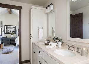 Guest Bathroom - Four Pines - Teton Village, Wyoming Luxury
