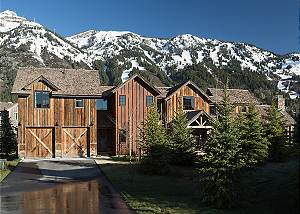 Front Exterior - Four Pines - Teton Village, Wyoming Luxury Cabi