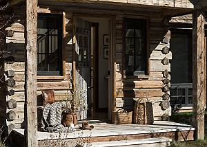 Front Door - Four Pines - Teton Village, Wyoming Luxury Cabin