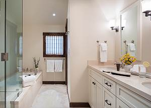 Junior Master Bath - Four Pines - Teton Village, Wyoming Luxury