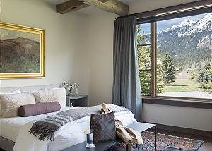 Junior Master - Fish Creek Lodge - Teton Village Luxury Cabin