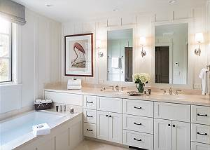 Junior Master Bathroom - Fish Creek Lodge - Teton Village Luxury